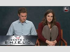 Elizabeth Henstridge and Iain De Caestecker Screen Test ... Iain De Caestecker Shield
