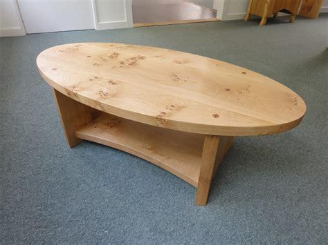 Oval Oak Coffee Table Pippy Oak Oval Coffee Table Real Wood Studios