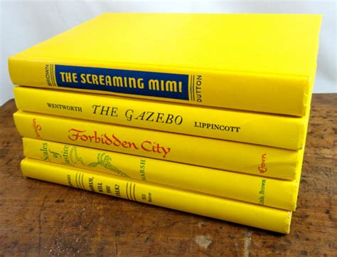 yellowing books vintage yellow book collection by aprettybook on etsy