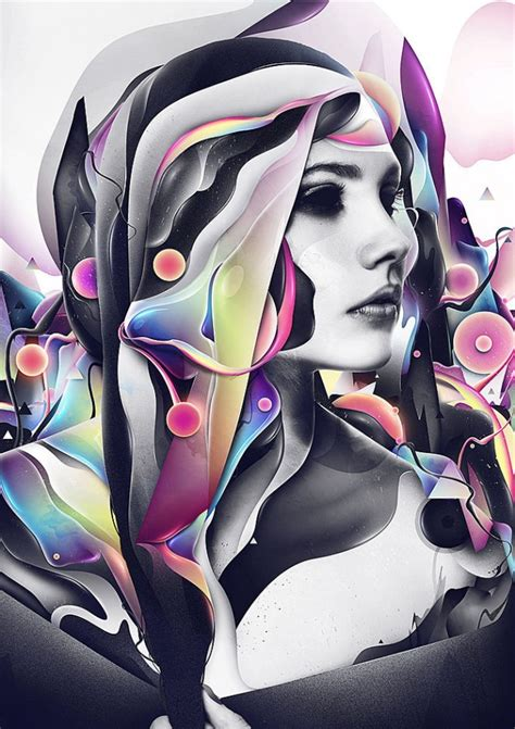 design art abstract graphic illustrations and photo manipulations by