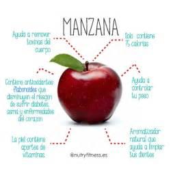 la manzana y sus beneficios consejos salud y dieta pinterest recetas