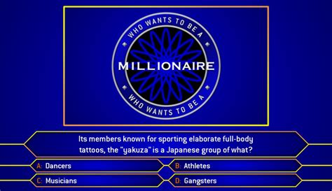 who wants to be a millionaire game powerpoint template