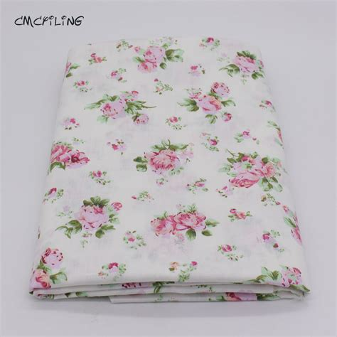 fabric for sheets printed twill cotton fabric for sewing floral tissue baby