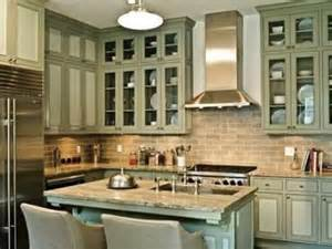 Kitchen Colors With Green Countertops - cool gray granite countertops complement this sage green kitchen traditional home 174 photo