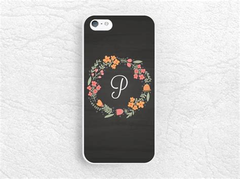 Casing Hp Lg G3 Chalkboard Custom Hardcase chalkboard floral flower monogram initial phone for iphone 6 iph casesbylorraine