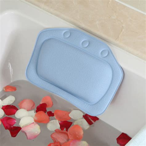 bathtub pillow with suction cups new pvc bath spa bathtub pillow with suction cups for