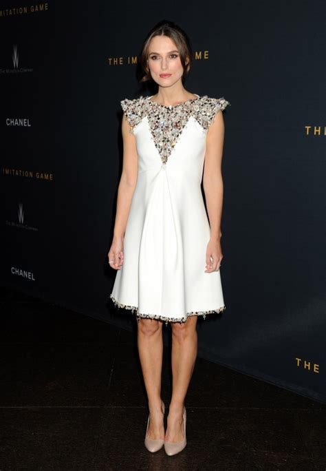 Gamis Fashion Chanel keira knightley dons chanel couture dress at the