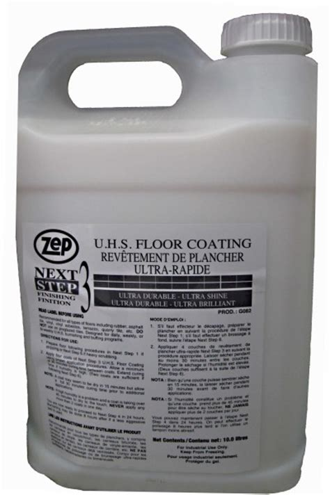 Next Step 3 UHS Floor Coating   Soap Stop