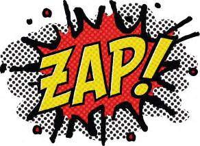 zap comic book style zap zap zap zap t shirt design by