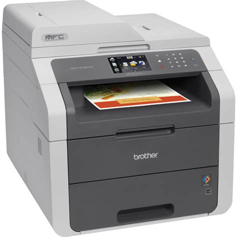 Printer Laser Wifi mfc 9130cw wireless color all in one laser mfc 9130cw