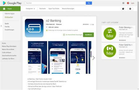 fidor bank app angetestet o2 banking zukunft ist vergangenheit 183 it