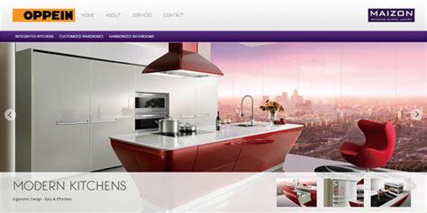 website templates for modular kitchen web designer portfolio web development print media design