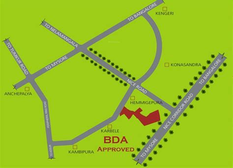 layout plan bda 1200 sq ft plot for sale in nava nakshatra bda layout