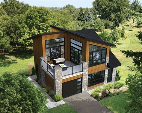 Contemporary Small House Plans by Plan 80878pm Dramatic Contemporary With Second Floor Deck