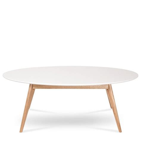 table basse design table basse ovale design scandinave skoll blanc drawer