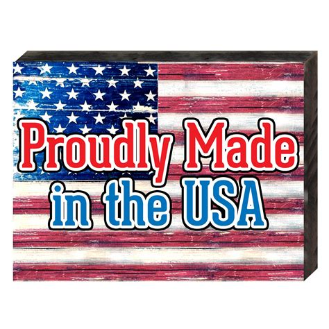 american made home decor made in usa on reclaimed wooden board wall home decor