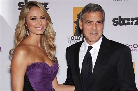 And George Clooney Might Be Dating by George Clooney Denies Splitting From Wrestler