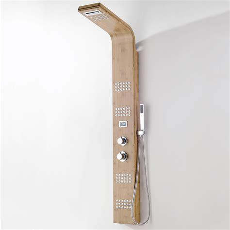 pannelli doccia idromassaggio pannello doccia idromassaggio in bamboo creek con soffione