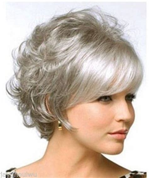 gray shag haircuts compare prices on short gray wig online shopping buy low