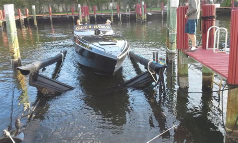 floating boat lift for sale florida air berth floating boat lift 2006 for sale for 15 000