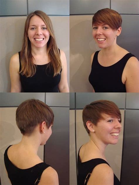 haircut before and after tumblr pinterest the world s catalog of ideas