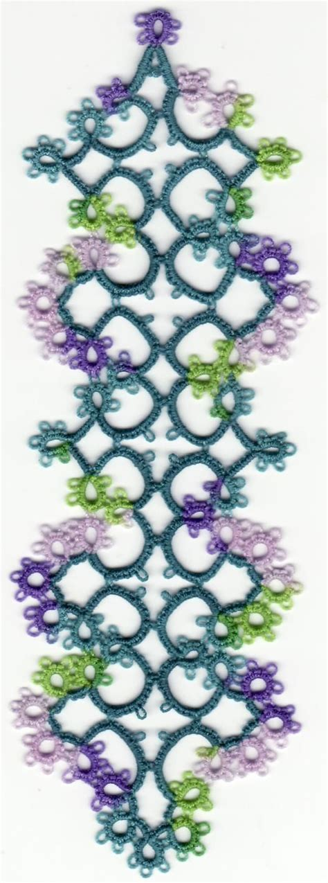 1000 Images About Awesome Tatting Bookmarks On Pinterest
