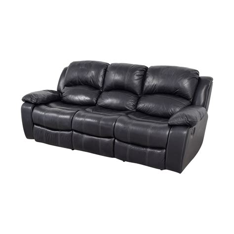 Black Leather Recliner Sofa Second Black Leather Recliner Sofa Www Redglobalmx Org