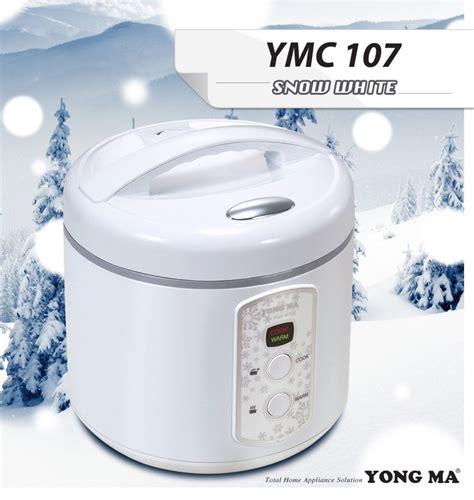 Penanak Nasi Rice Cooker Yong Ma Ymc 210 Kapasitas 2 Liter yong ma ymc 107 snow white magic yongmasale