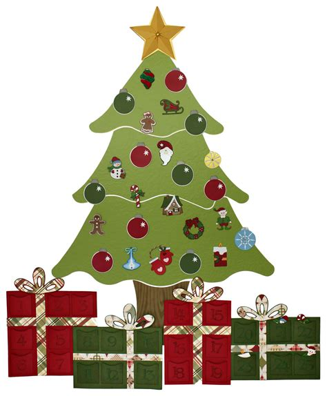 christmas tree advent calendar pazzles craft room