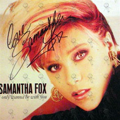 samantha fox i only wanna be with you fox samantha i only wanna be with you 12 inch lp