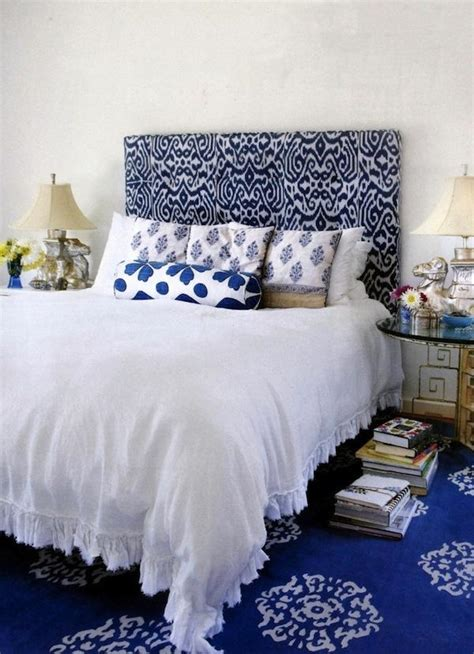 patterned upholstered headboards update your bedroom with a patterned headboard aphrochic