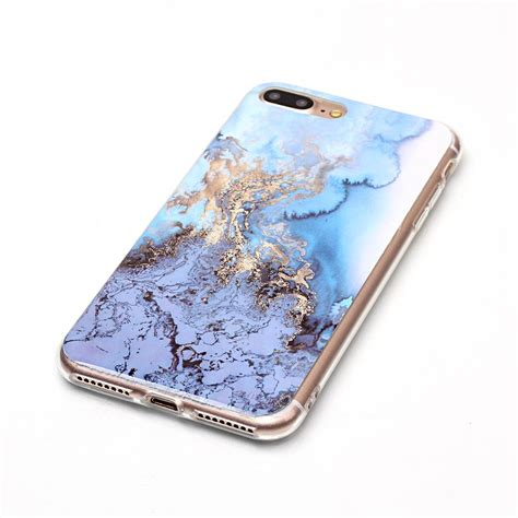 Iphone 6 6s Silicone Tpu Cover 3d Bowknot Lucky Cat 3d painted marble gel soft tpu slim protective cover