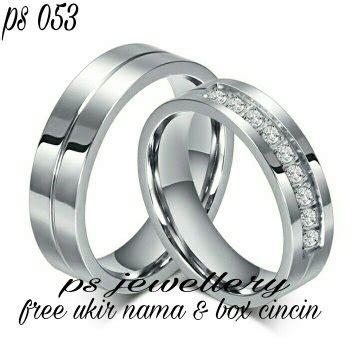 Cincin Kawin Perak R3075 1 jual cincin perak cincin kawin tunangan terbaru di lapak psjewellery mkjewellery
