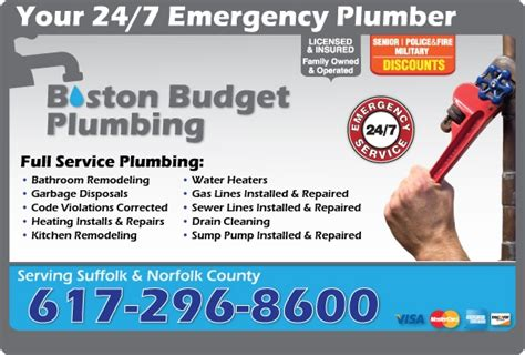 Defined Plumbing Services Plumbing Boston Ma Recommended Local Services