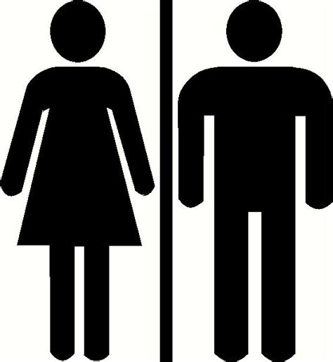 men and women bathroom symbols unisex mens womens ladies restroom bathroom door sign by