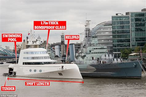 russian tycoon bombproof superyacht on the river thames russian tycoon andrey melnichnko s 390 ft bombproof motor