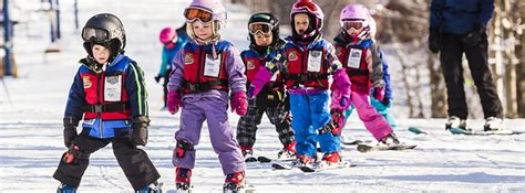 1 year skiing children s ski snowboard programs for ages 3 4 years