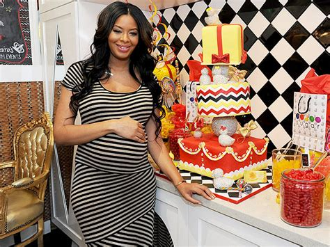 vanessa simmons brings her beautiful baby girl on the vanessa simmons celebrates baby shower with family and