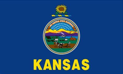 Printable Kansas Flag kansas usa flag pictures