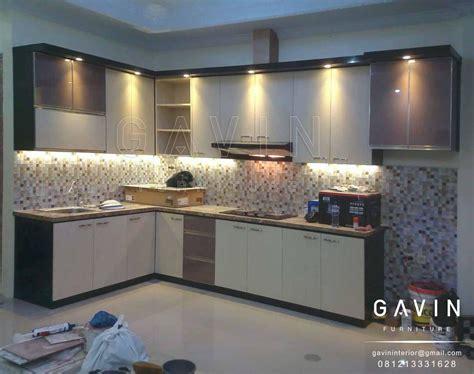 kitchen set minimalis modern  indah lemari pakaian