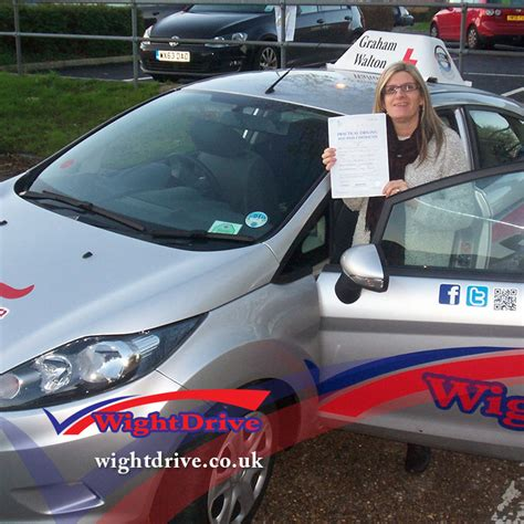sle of driving test sue kemp driving test pass with wight drive isle of