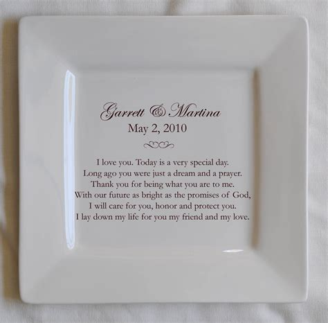 1st anniversary paper anniversary wedding your photo and wedding vows