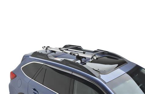 subaru career 2017 subaru outback thule 174 bike carrier roof mounted