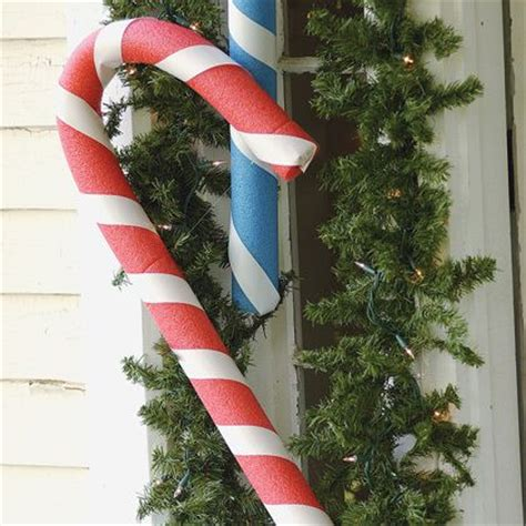 outdoor candycane ribbon 98 best garden pool noodles lawn images on