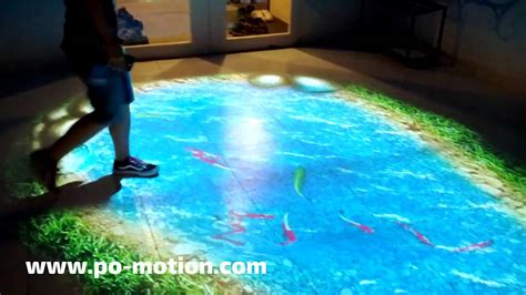 Motion On The Floor by Lumo Play Interactive Floor And Wall Projection Software
