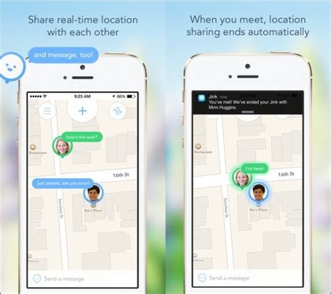 iphone themes location how to share location in iphone or android in real time