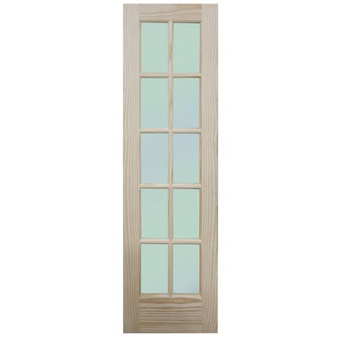 24 interior door 24 interior door with glass pinecroft 24 in x 80 in frosted glass raised panel pine interior