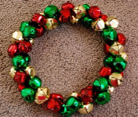 jingle bell wreath dyi jingle bell crafts pinterest