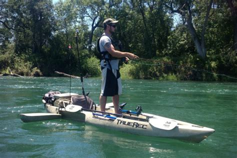wilderness inflatable pontoon boats dfp fishing kayak with retractable pontoons hiconsumption