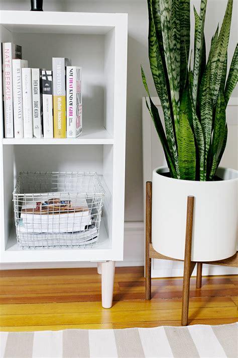 olivenholz möbel hellrosa wohnzimmer